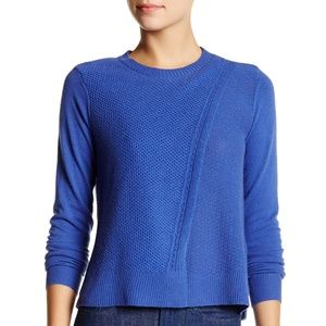 Rebecca Taylor NWT Wool Blend Crossover Pullover